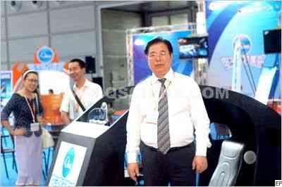 贸促会电子信息行业分会李会长亲临电子竞技区