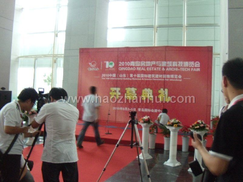 2011青岛房地产与建筑科技交易博览会展会图片-好