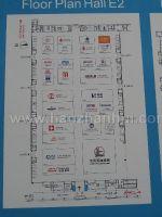 2012第十二届中国国际石油天然气管道与储运技术装备展览会展位图